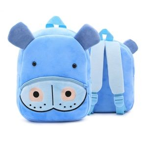 Other - Hippo Toddler Plush Backpack Bag Ages 1-4